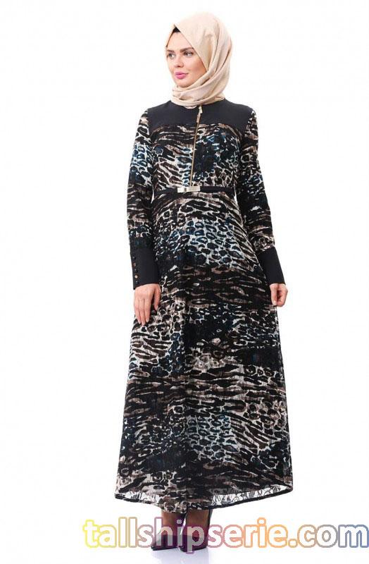 tesettür elbise, tesettür giyim, tesettür elbise tasarımları